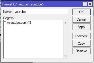 Cara Blok Akses Youtube dari Hp Menggunakan Mikrotik